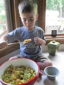 """My original """"kid cook,"""" Ozzy!"""