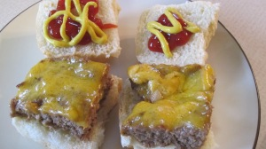 Place the sliders on the rolls and top with condiments of your choice!