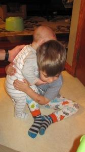 Brother Hug!