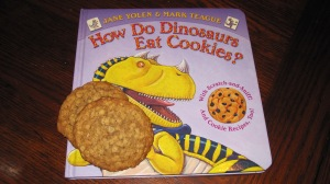 What little boy doesn't love dinosaurs and cookies?!