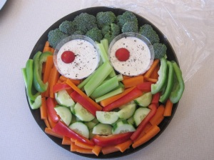 Have fun with your veggies.