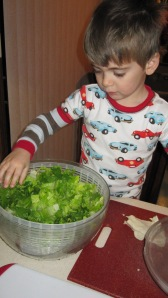 Salad Spinner Extraordinaire!