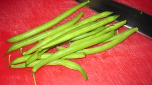 How about fresh green beans?