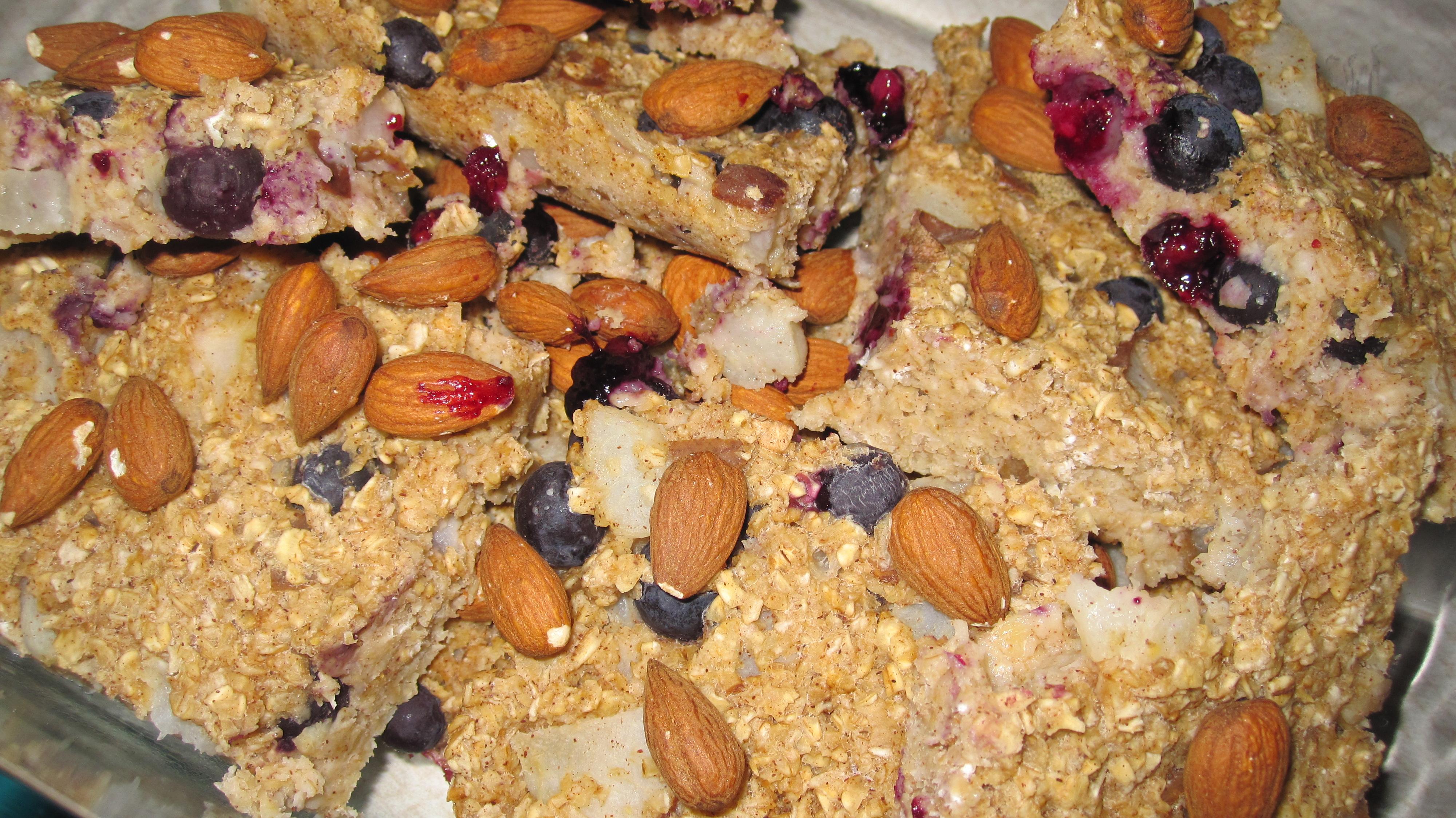 Pear Blueberry Baked Oatmeal | For Oven's Sake!