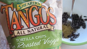 Flavored tortilla chips really add to this.  It's no secret these are my favorite!