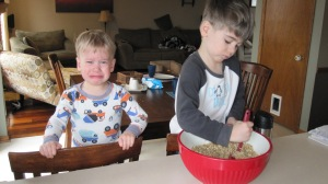 If you have two kid cooks, they should take turns.  Hey, I didn't say they'd be happy about it!